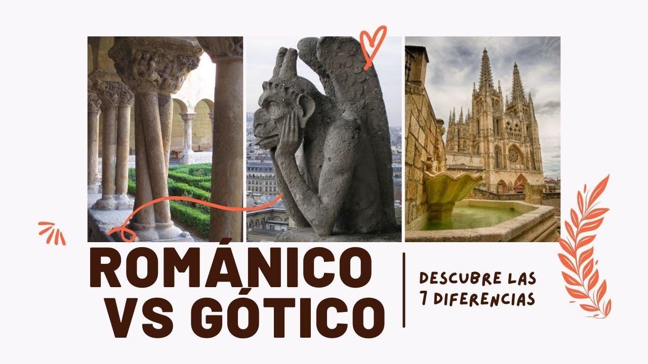 Románico Y Gótico Descubre Sus 7 Diferencias En Tan Sólo 10 Minutos Youtube