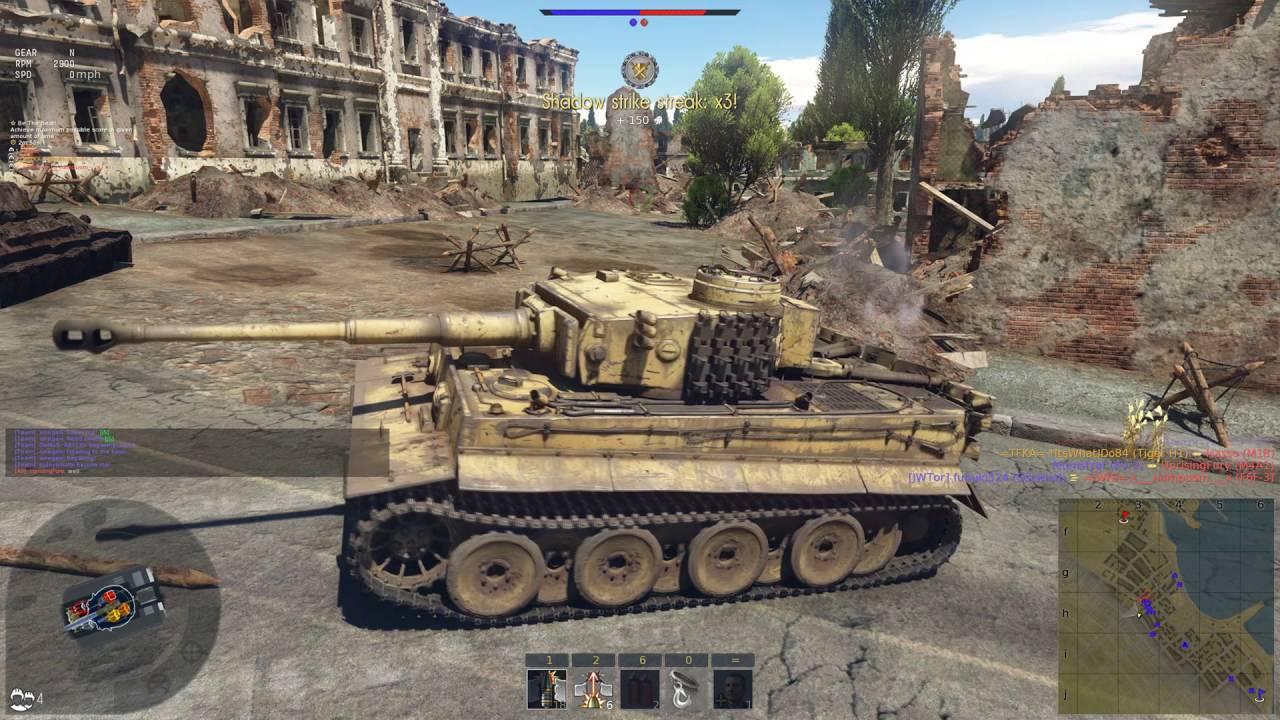 видео вар тандер тигр 1