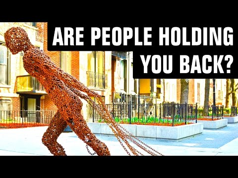 Why You Must Let Go Of People Who Hold You Back