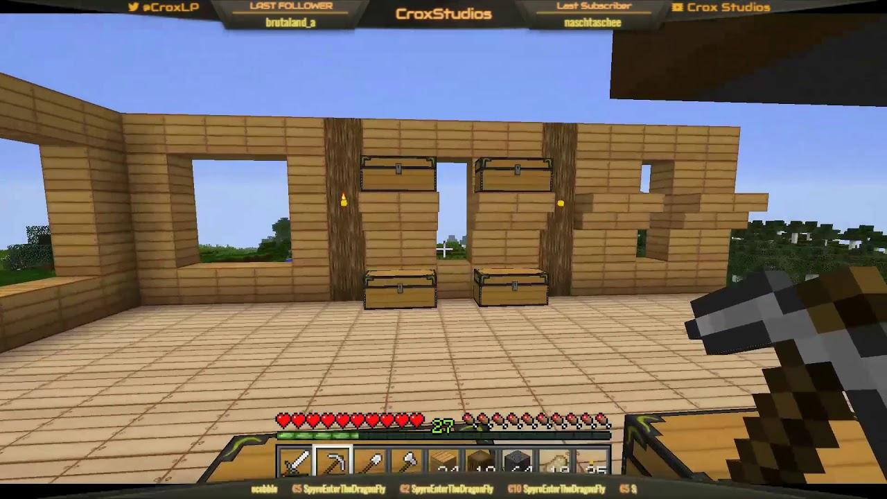 Lagerbau Server YouTube - Minecraft hausbau mod 1 7 10