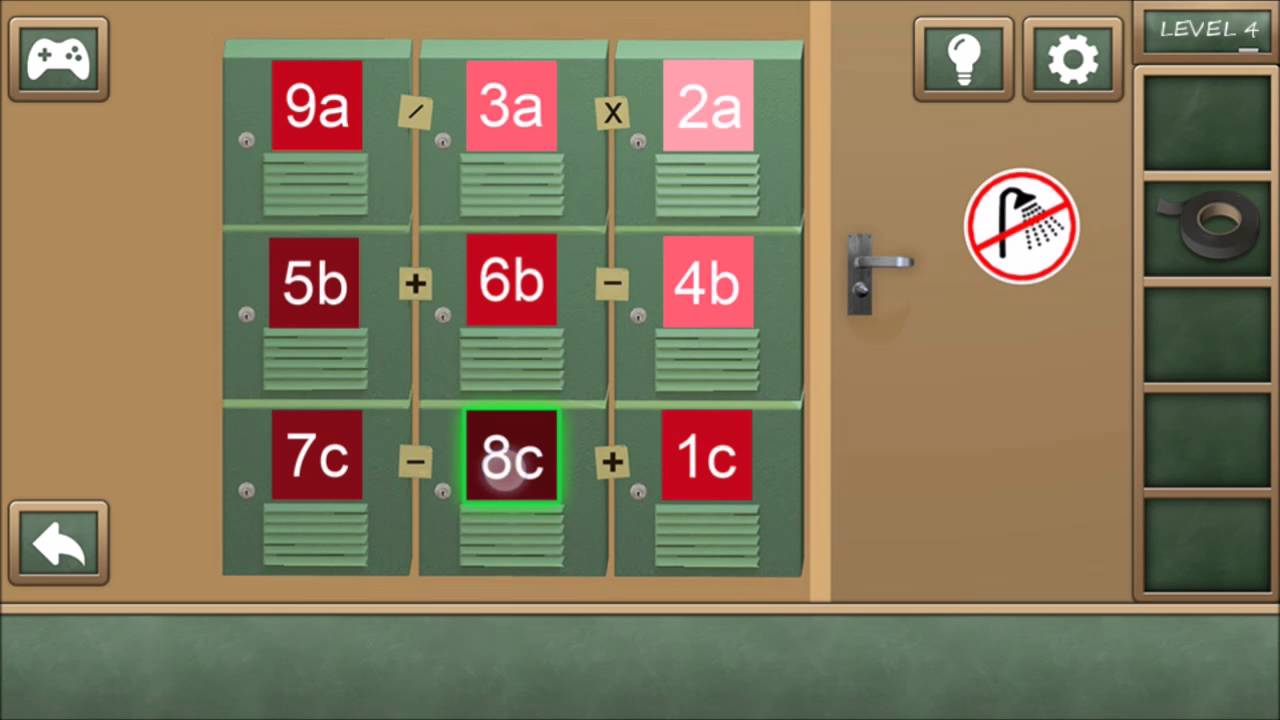 Escape The Bathroom Level 4 high school escape level 4 - walkthrough - youtube