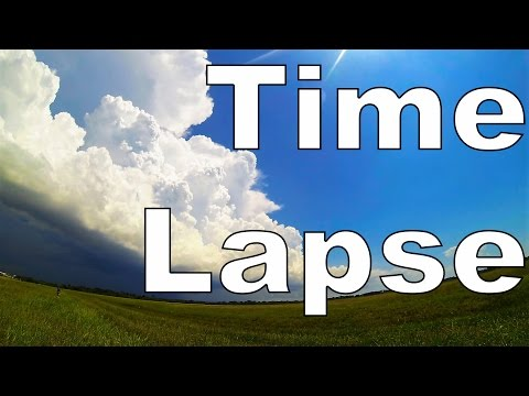 Ep. 73: Time Lapse Thunder Storms | How clouds and storms form