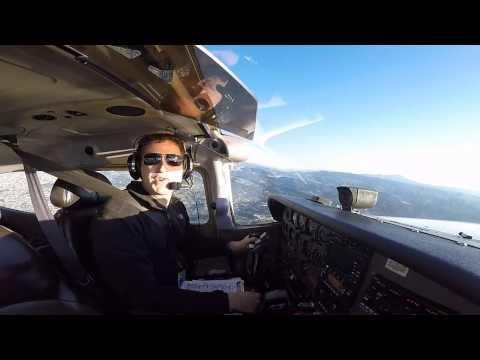 Solo Cross Country Flight: Oakland to Modesto