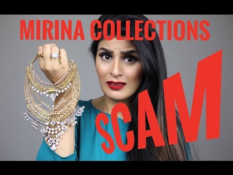 MIRINA COLLECTIONS SCAM!!