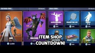 Fortnite Ark And Malcore Skins Return! (Item Shop Countdown)