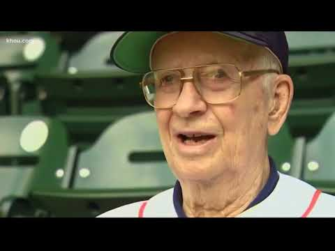 Oldest Season Ticket Holder Recounts Long History With Astros