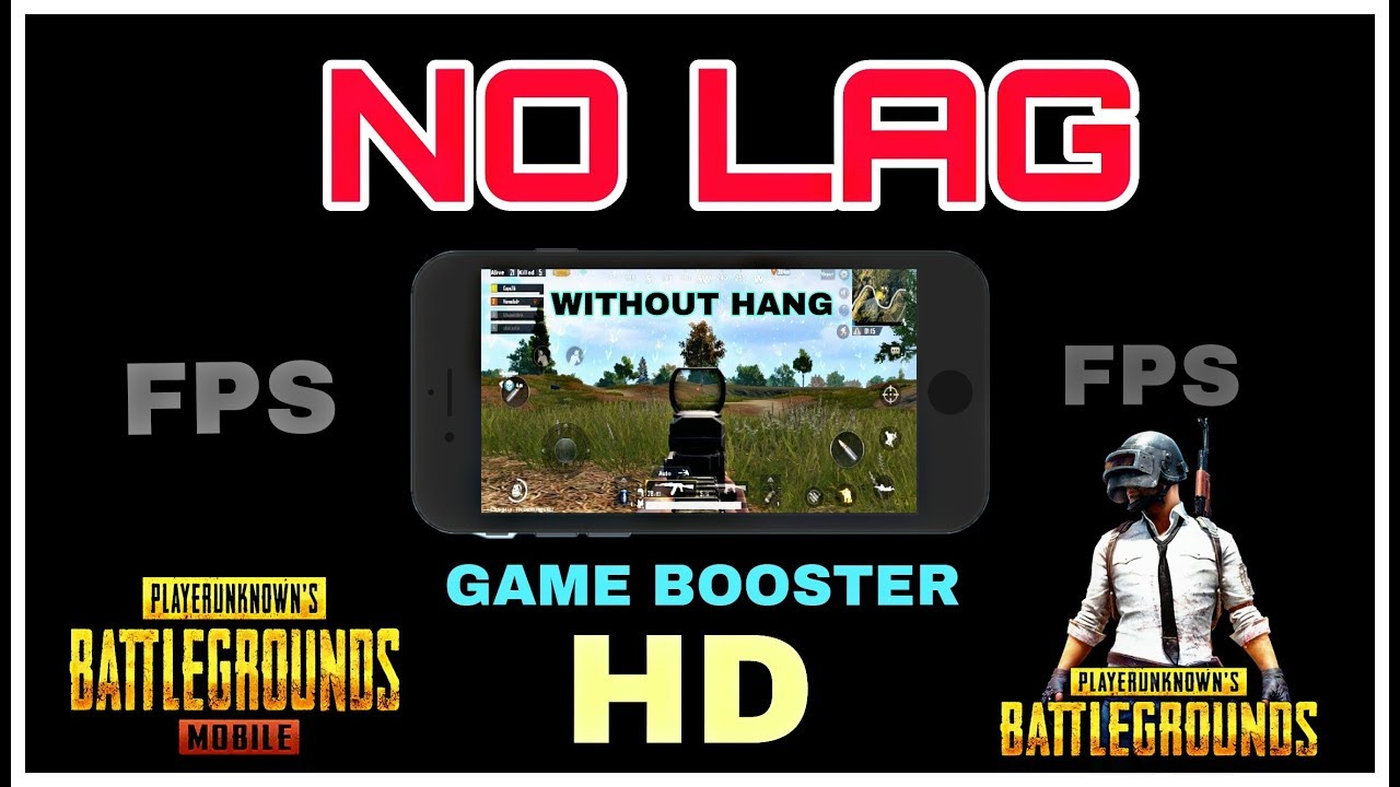 Game Booster For Pubg Get More Fps In Pubg Mobile No Lag Fps Booster
