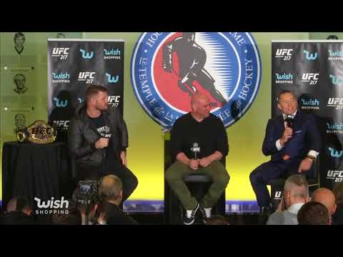 UFC 217: Bisping vs St-Pierre - Toronto Press Conference Highlights