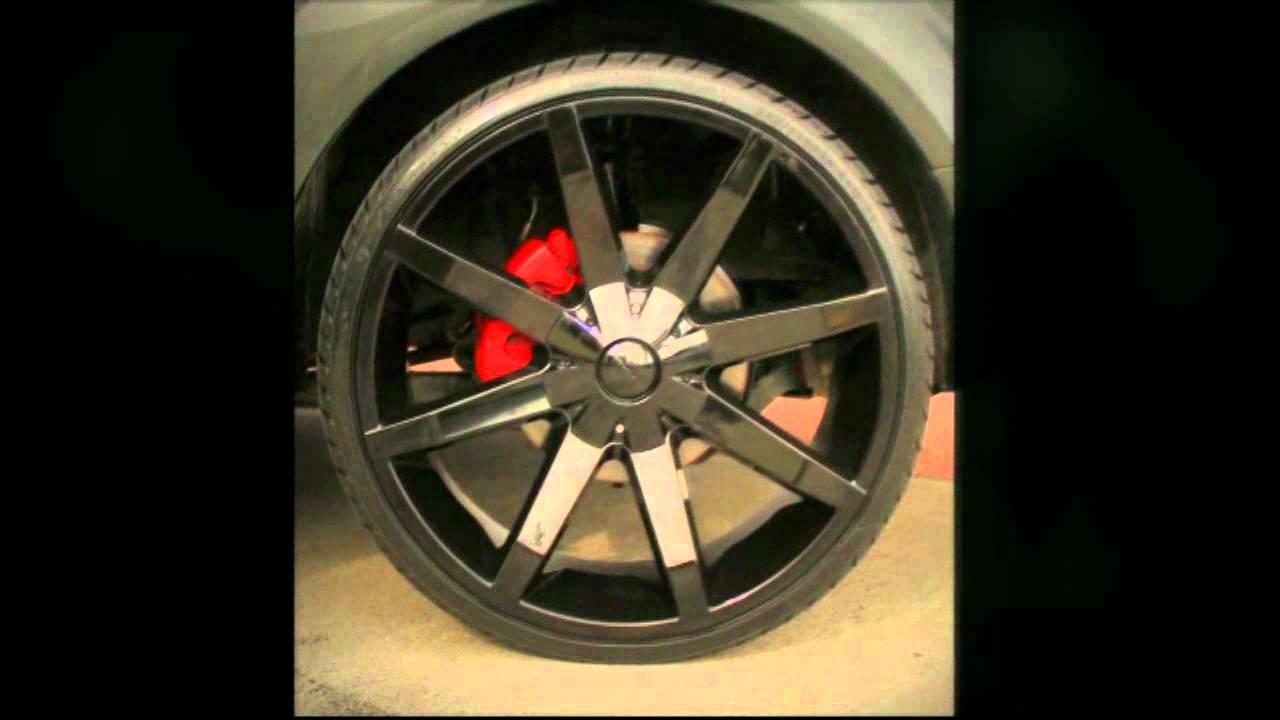 "Ford Territory rolling 24"" KMC Slide Wheels - YouTube"