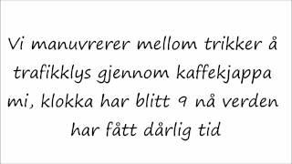 Vinni - God Morgen Norge (Lyrics) Tekst