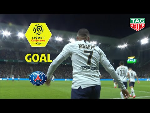 Goal Kylian MBAPPE (73') / AS Saint-Etienne - Paris Saint-Germain (0-1) (ASSE-PARIS) / 2018-19