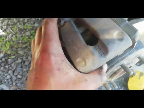 Kia Ceed замена колодок на задних колесах