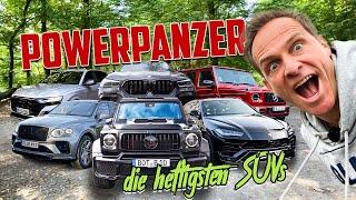 Die Powerpanzer Party   Ausrasten in den heftigsten SUVs   Matthias Malmedie