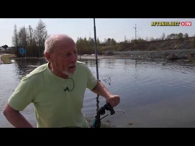 Översvämningar, Boden - Aftonbladet 180513