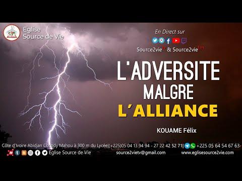 KOUAME Félix | L'Adversité Malgré l'Alliance