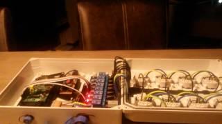 raspberry pi 8 channel relay box