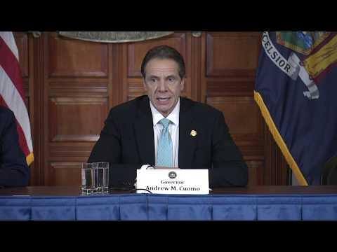 New York Gov. Andrew Cuomo offers the latest update on coronavirus.