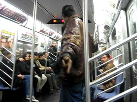NYC Subway Karaoke 1