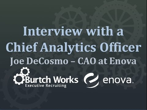 Analytics & Data Science Industry Insights from a Chief Analytics Officer