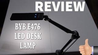 BYB E476 REVIEW - Metal Architect Swing Arm LED Desk Lamp