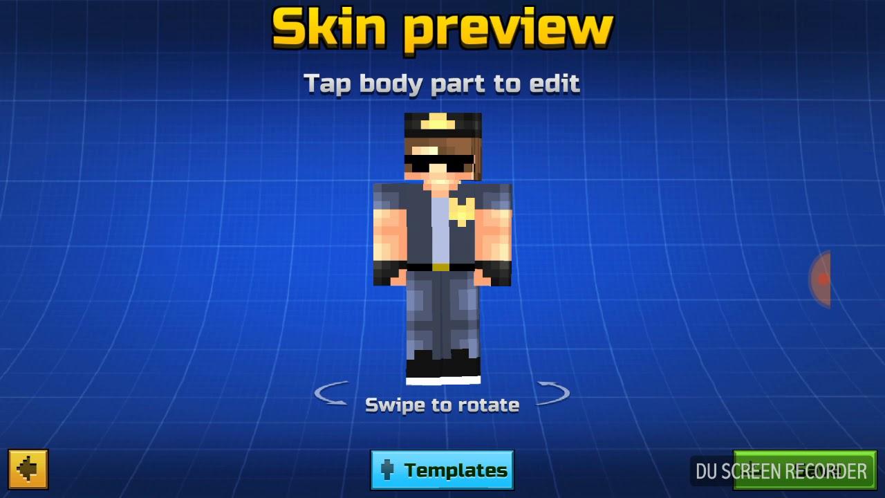 pixel gun 3d skin maker free