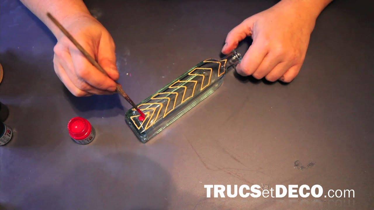 Technique de la peinture sur verre tutoriel par for Peinture sur verre