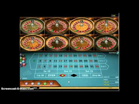 Spin Palace MultiWheel Roulette Preview