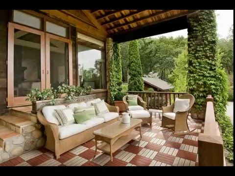 cheapest way to cover patio flooring - YouTube