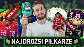 PIŁKARZE O NAJWIĘKSZEJ WARTOŚCI W DRAFCIE | FIFA 19
