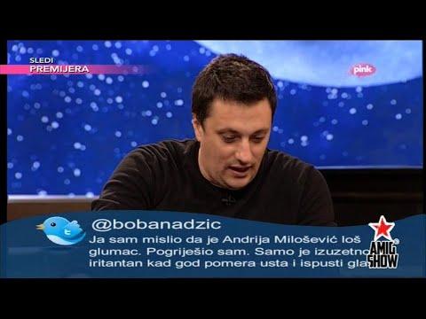 Ami G Show S07 - E21 - Bitter twitter - Andrija Milosevic