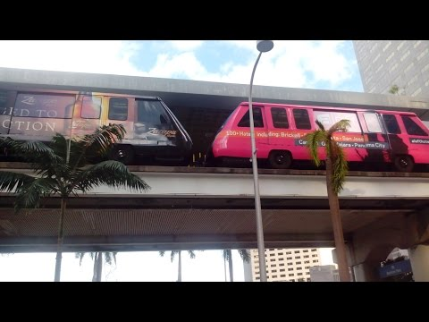 METROMOVER MIAMI FLORIDA USA