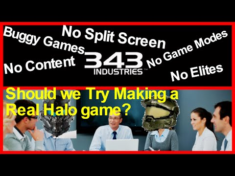 343i Can't Make Halo Games and aren't Using the Halo Franchise to its full potential