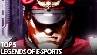 Top 5 Legends of eSports