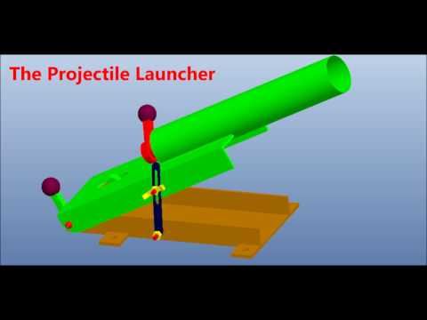 Projectile Launcher Mechanical Engineering Project