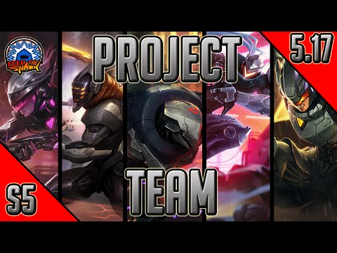 League of Legends - Full PROJECT: Team - Full Game Commentary with Friends