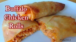 Buffalo Chicken Rolls