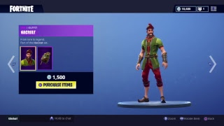FORTNITE - NEW HACIVAT SKIN & SHADOW PUPPET GLIDER !!