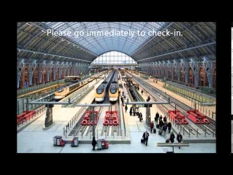 London St. Pancras Announcements