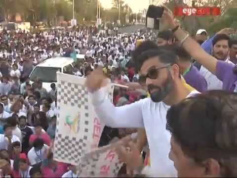 Bollywood Actor Sunil Shetty in Jaipur | Eyeca Media