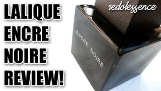 Encre Noire by Lalique Fragrance / Cologne Review