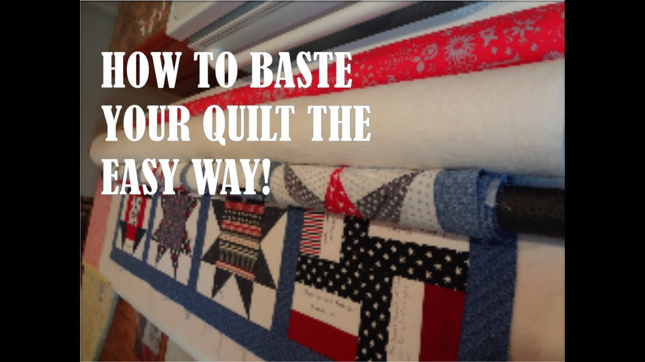 How to Baste a Quilt - YouTube : best batting for machine quilting - Adamdwight.com