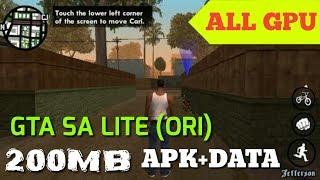GTA SA Lite Size Kecil 200MB Apk Data