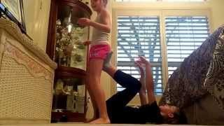 Yoga challenge with a new special Guest
