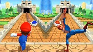 Mario Party 9 MiniGames - Mario Vs Spider Man (Master Cpu)