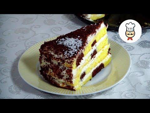 легкий рецепт торта в домашних условиях пошагово