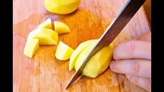 Как нарезать картошку для супа мастер-класс от шеф-повара / Илья Лазерсон / Полезные советы