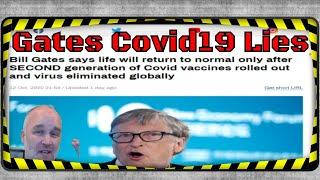 Bill Gates Covid19 Lies and Social Media Censorship.