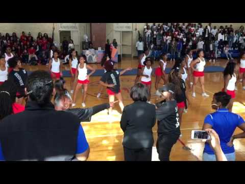 Benjamin Banneker Academic High School Pep Rally 2015-16