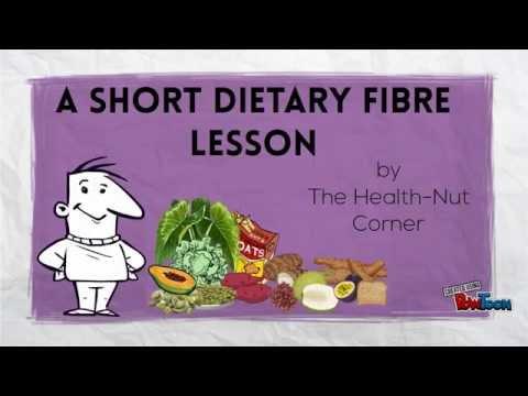 Dietary Fibre Lesson