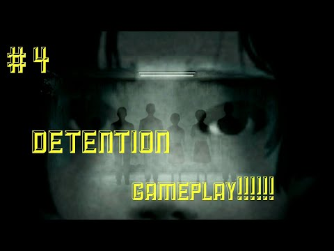 This game is creepy !!!! || DETENTION THE GAME |